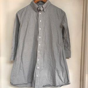 American Apparel Chambray tunic top